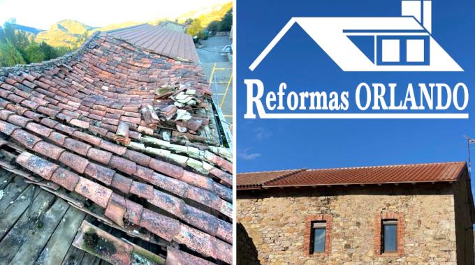 Reforma de tejado en León